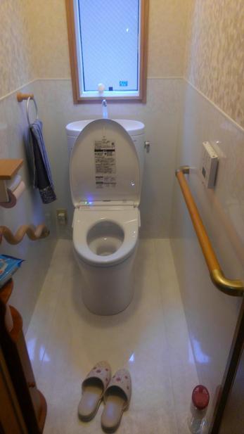 満足しています。 思った通りのトイレになりました。